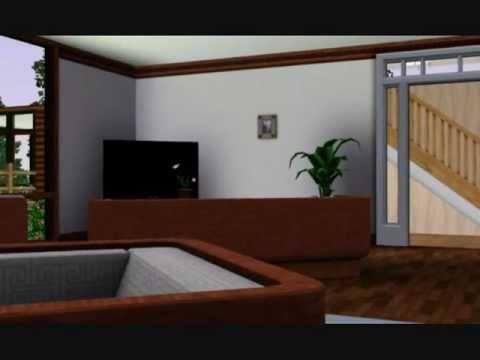 Sims 3 Renovieren eines Hauses Teil 5 Das Wohnzimmer - YouTube