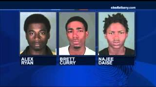 3 men charged with robbery