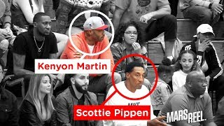 Scotty Pippen Jr. And  Kenyon Martin Jr. BALL OUT Just Like Their DADS!