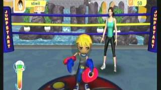 Wii Workouts - Jumpstart Get Moving Family Fitness for Wii - Boxing