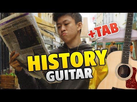 RAP guitar tabs