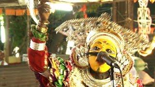 Chanting of Bhuta's story from Bhuta Kola