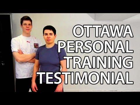 """Helen"" Ottawa Personal Training Testimonial - Burke Cleland Trainer"