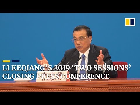 Highlights from Li Keqiang's 2019 'two sessions' closing press conference