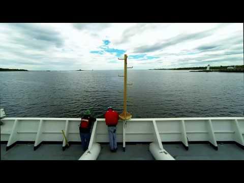 NOAA Ship Ferdinand Hassler Departs New Castle, New Hampshire