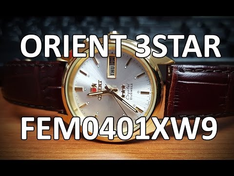 Orient Three Star (Tristar, 3star) - FEM0401XW9 -  Review, Measurements, Lume, Uncle Jimmy Rant