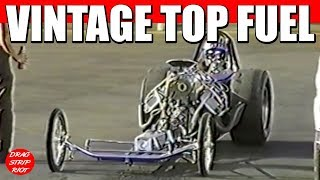 1990 - Part 7 Best of Famoso Raceway Nitro Fuel Altered Nostalgia Drag Racing Bakersfield, CA
