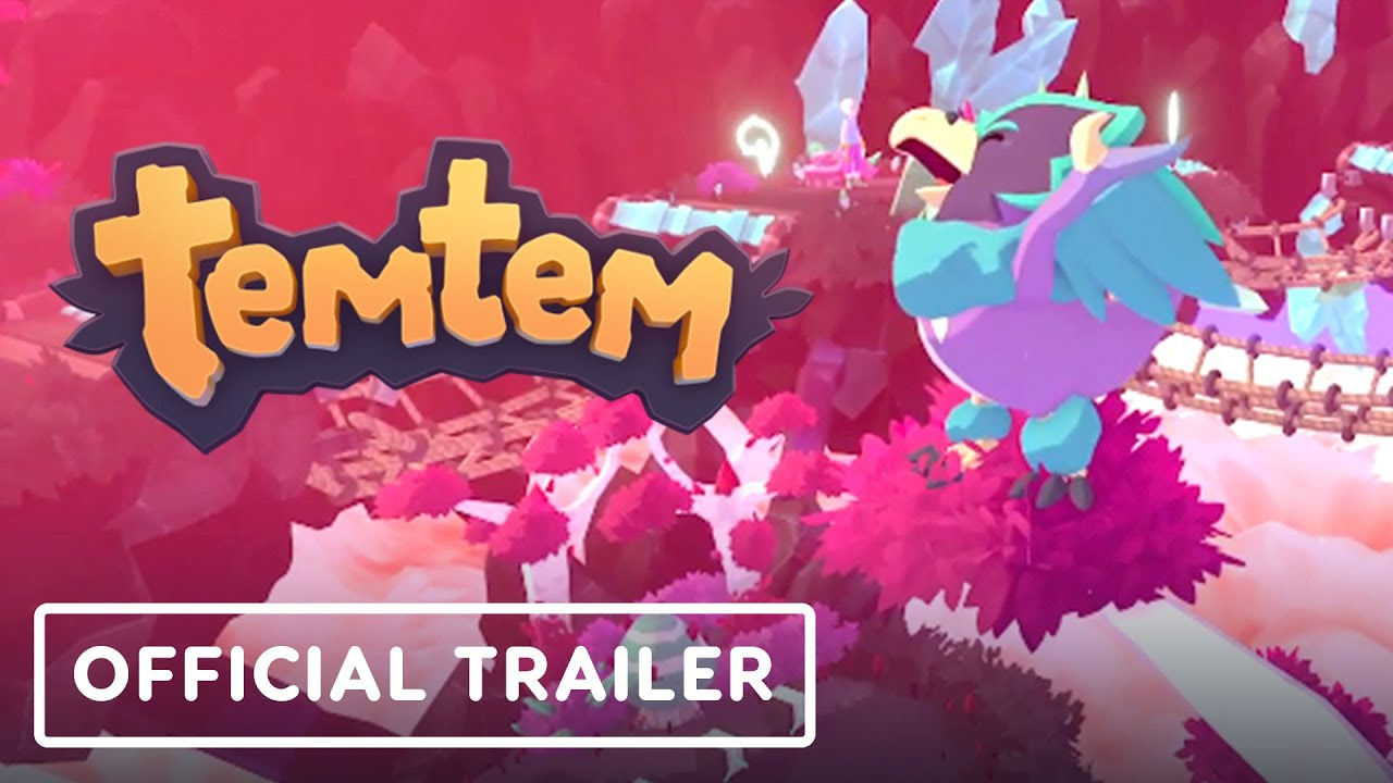 Temtem - Official Gameplay Trailer (Breeding & Battle System)
