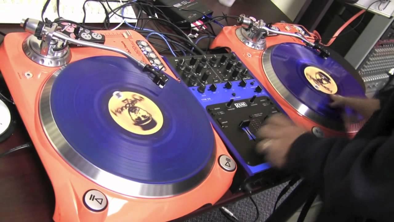 DJ Tech Sl 1300 | Juggling With DJ Grouch   YouTube