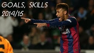 Neymar Jr 2014/15 ► The Ultimate Goals & Skills | 1080p HD