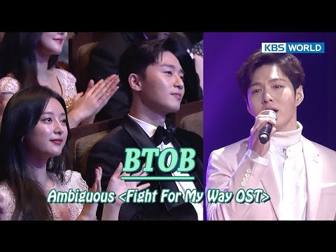 BTOB - Ambiguous (Fight For My Way OST) [2017 KBS Drama Awards/2018.01.07]