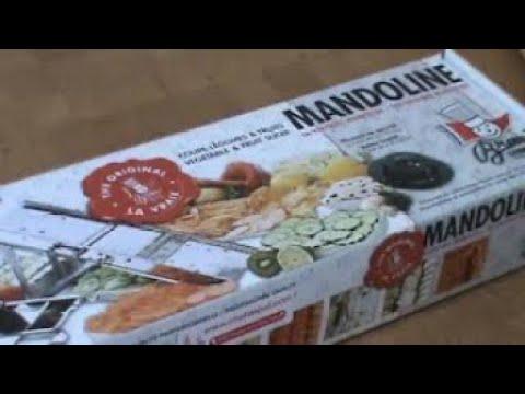 How To Use A Mandoline Slicer