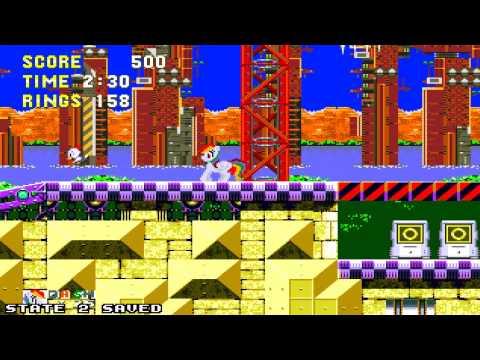 [MLP:FiM] Sonic 3 & Rainbow Dash [Gameplay]