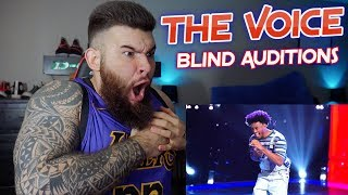 DOMENIC HAYNES - RIVER - The Voice Blind Audition 2019 【REACTION!!】!!!