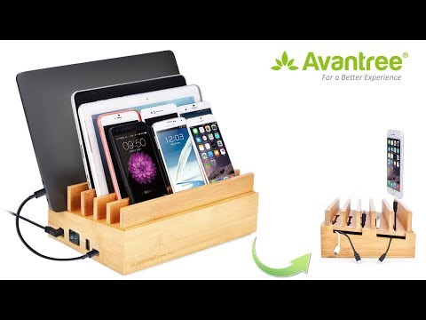 10 Ports Multi-Device Charging Station for Phones and Tablets - Avantree PowerPlant