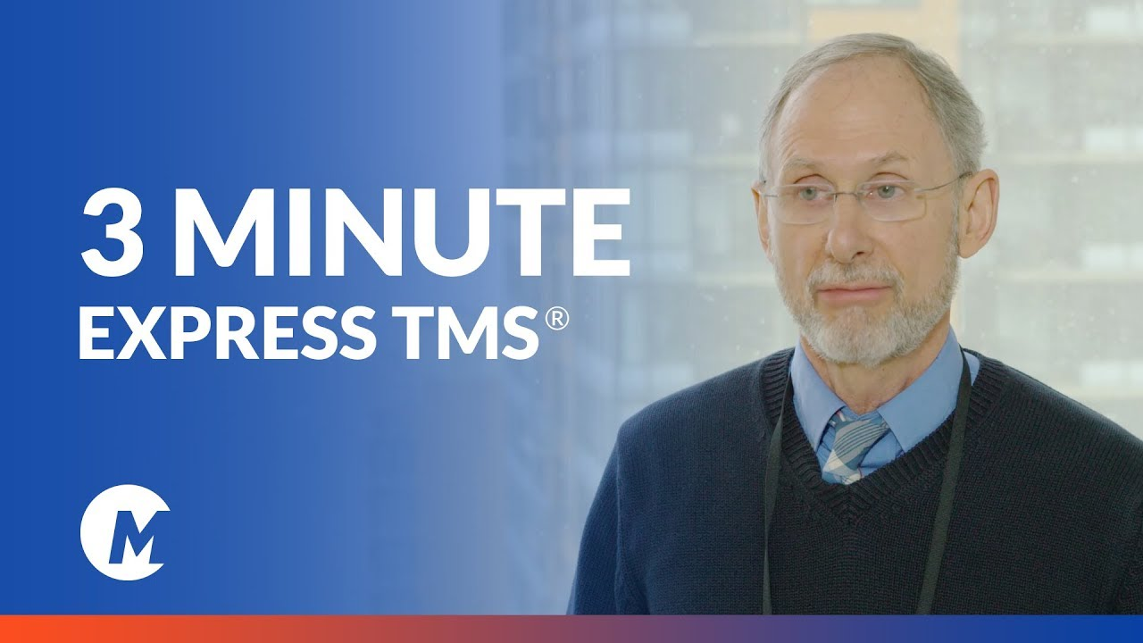 Introducing Express TMS: Depression treatment in just 3 minutes