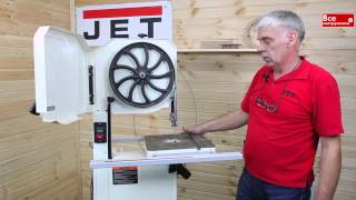 Ленточнопильные станки по дереву и металлу Jet J 8201K и Jet J 8203K