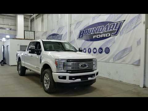 Pre-owned 2018 Ford Super Duty F-350 Platinum W/ 6.7L Power Stroke Overview | Boundary Ford