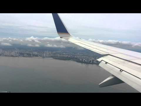 Landing in Panama PTY - Tocumen MPTO Copa Airlines