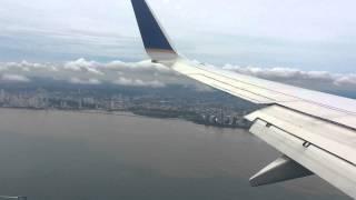 Landing in Panama PTY - Tocumen MPTO Copa Airlines