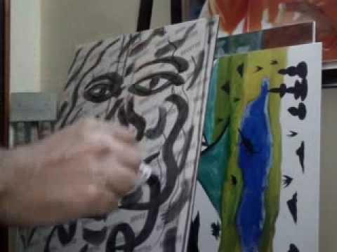 Portraits Painting Easy Art Modern