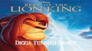 Best of The Lion King Soundtrack - Digga Tunnah Dance (from The Lion King 1½)