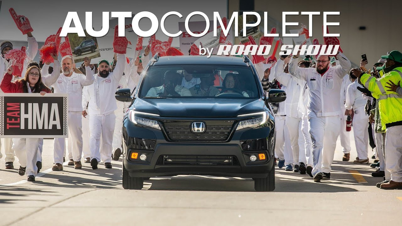 AutoComplete: Honda's new Passport already started production