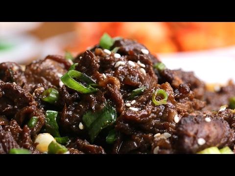 Korean BBQ-Style Beef (Bulgogi)