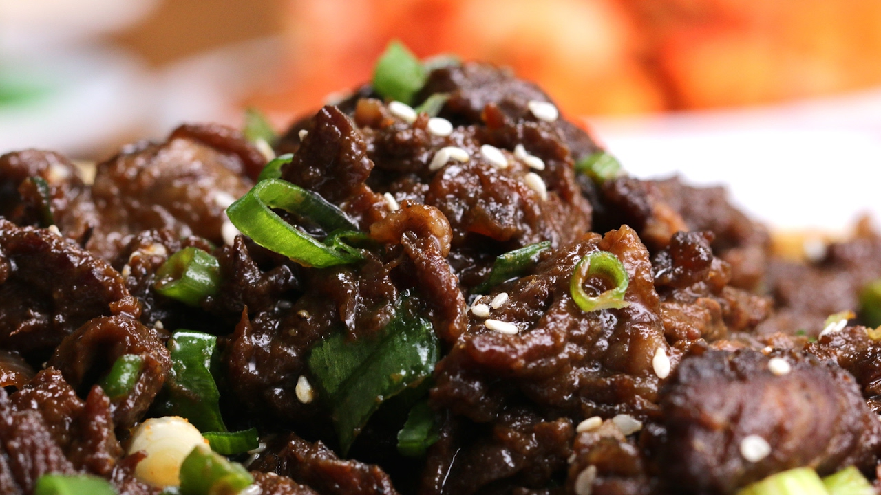 Korean Bbq Style Beef Bulgogi Youtube