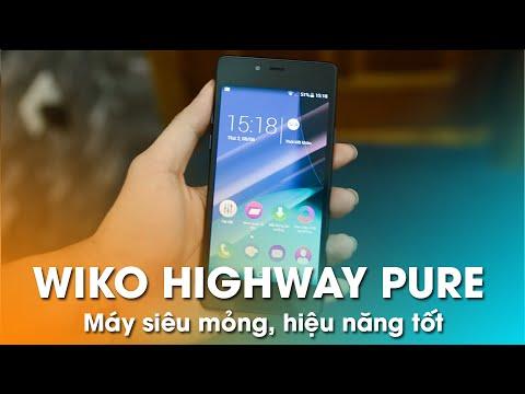 Wiko Highway Pure (5.1mm, Ram 2Gb) - Mở hộp và đánh giá nhanh