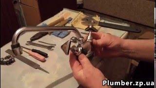 Ремонт старого кран-буксового смесителя. Пламбер
