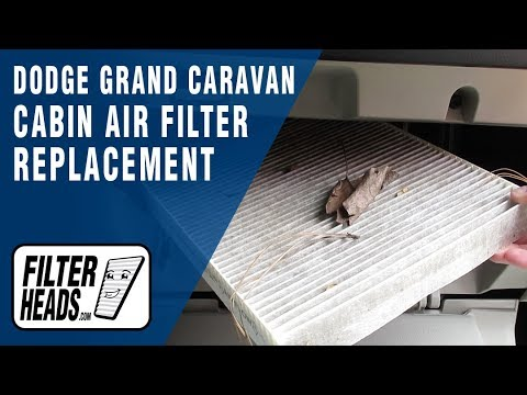 How to replace cabin air filter 2014 dodge grand caravan for 2006 dodge grand caravan cabin filter location