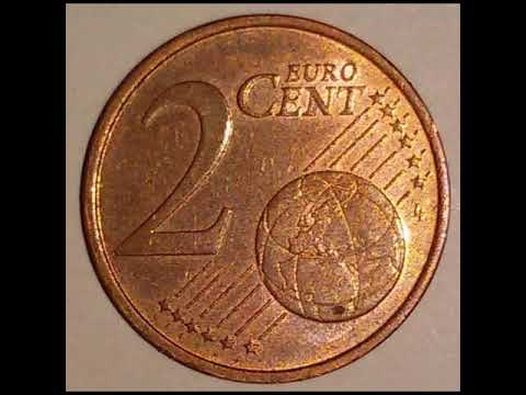 2 Cent Münze Slowenien 2007 Euromünze Slovenija Youtube
