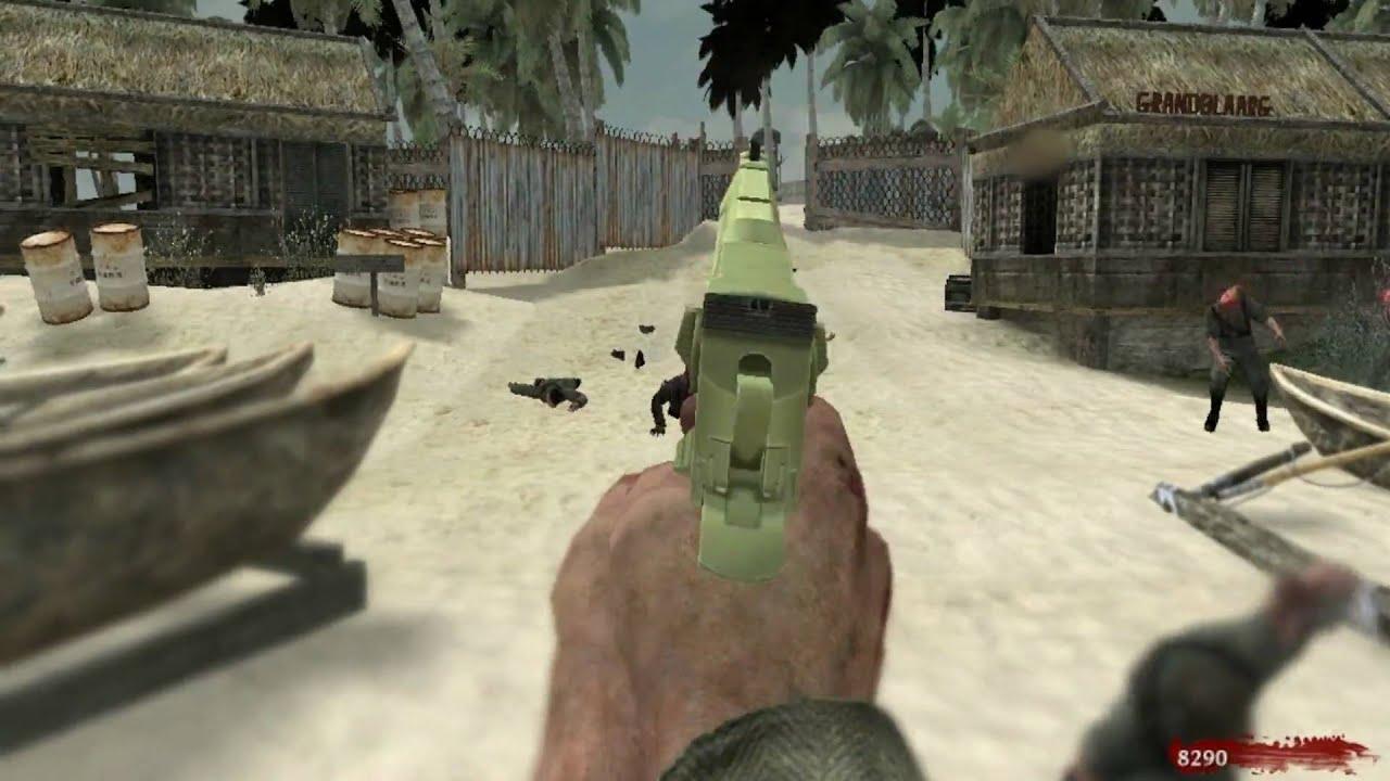 CoD WaW: Nazi Zombie Map | Island | PC [Remake in Description] - YouTube