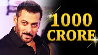 Salman Khan Signs Rs.1000 Crore Satellite Deal