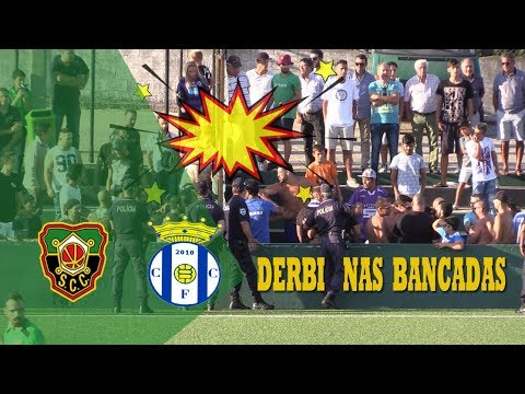 DERBI DE GAIA NAS BANCADAS ( SC Coimbrões vs Canelas 2010) - MINUTO90 TV