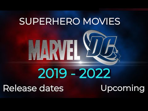 Upcoming SUPERHERO MOVIES DC and Marvel 2017 to 2020 with Release Dates | REALFAV