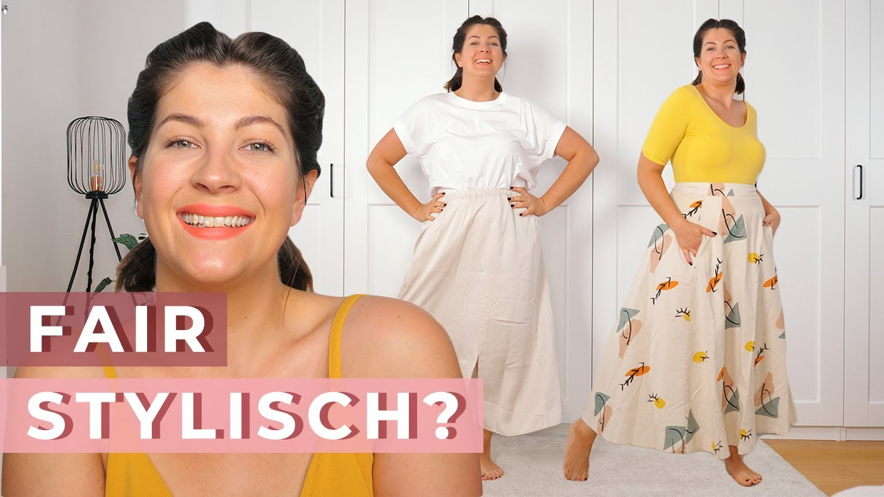 ICH TESTE FAIR FASHION SHOPS | 3 sommerliche Looks | Armed Angels, NU-IN & Avocadostore Try On Haul