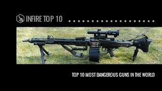 The Most Dangerous Guns In The World - Infire Top 10 | Infire Media
