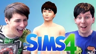 One of DanAndPhilGAMES's most viewed videos: MEET 'DIL HOWLTER' - Dan and Phil Play: The Sims 4 #1