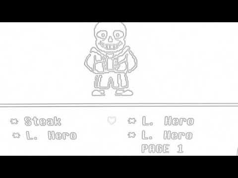 Sketch sans boss fight