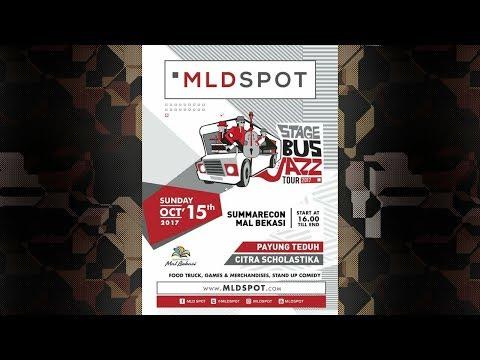 Payung Teduh - Di Ujung Malam Live on MLD BUS JAZZ Tour 2017