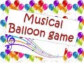 """""""Musical balloon"""" game for Diwali party ,kids birthday party and club event (fun game)"""