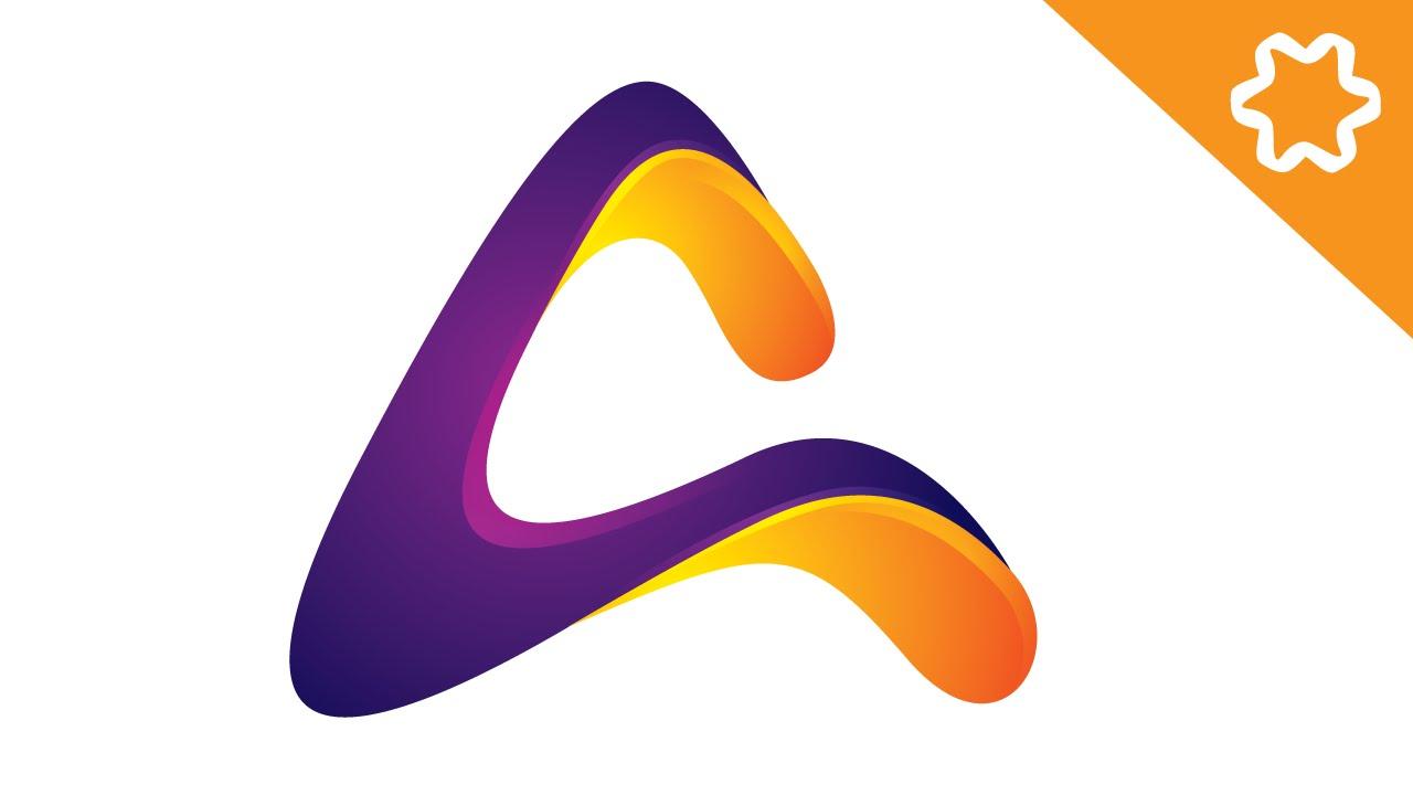 P Design: Letter Logo Design Illustrator