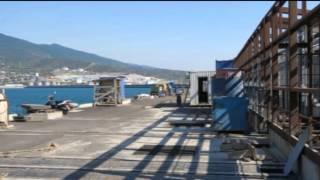 Как строится новая база ВМФ России