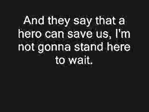 Nickelback - Hero (Lyrics)