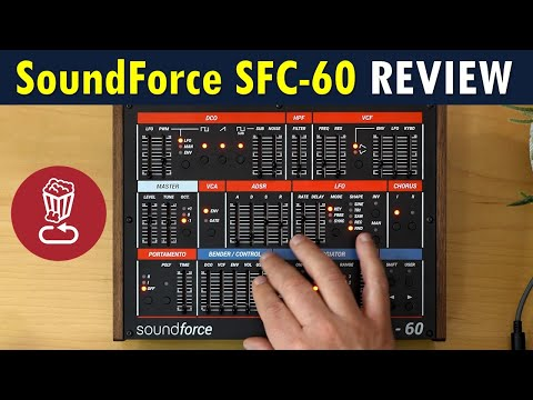 Soundforce SFC-60 Review // Does it make sense to buy a MIDI controller dedicated to a plugin synth?