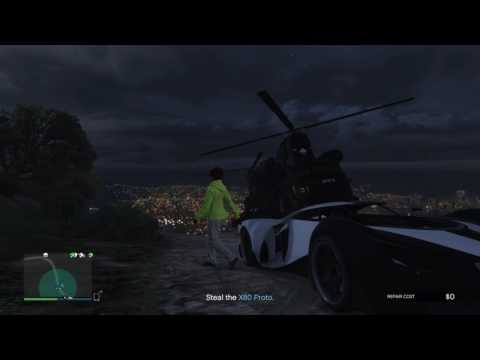 GTA 5 - Import/Export - Source Vehicle - Vinewood Sign Stunt stealth way