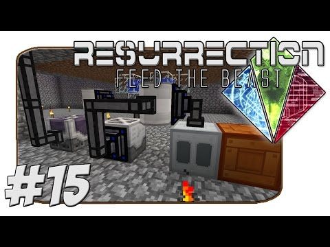 FTB Resurrection - The Tanker! Carrot Power MK2 - Part 15