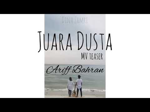 Ariff Bahran - Juara Dusta (Music Video Teaser)